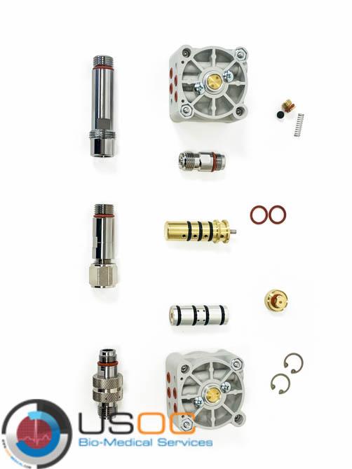504932 Precision Medical Low Flow Air-Oxygen Blender Kit