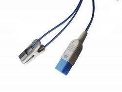 M1194A, 989803103251 Philips 3 ft D-Connect Ear Clip SPO2 Sensor OEM Compatible.