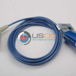 M1002 Datex Ohmeda (Female 10-pin Datex) SPO2 Adult Hard Shell Cable 10 ft. OEM Compatible.