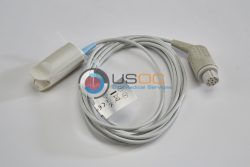 OXY-F4-N, PR-A520-1005 Datex Ohmeda (Female 10-pin Datex) SPO2 Adult Hard Shell Sensor 10 ft. OEM Compatible.