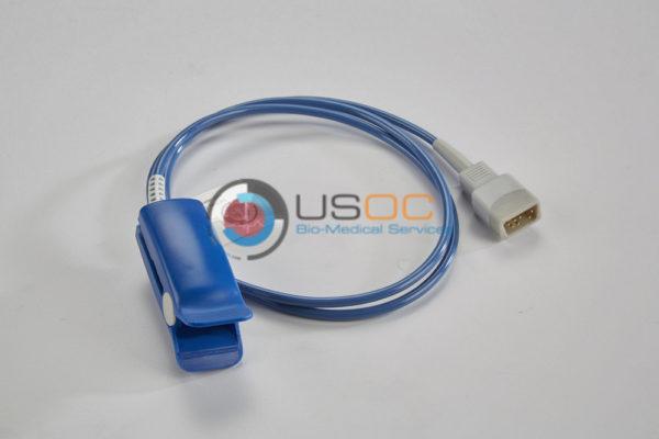 8000AA, F-3012, 5200-40 Nonin (Male 9-Pin D-Sub) SPO2 Adult Hard Shell 3.5 ft. OEM Compatible.
