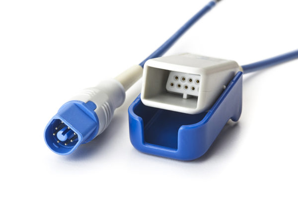 Philips SpO2 8 ft D-Connect to DB9 Adapter OEM Compatible