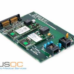GE Mac 5000 LAN, internal modem communication board Refurbished.