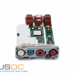 M3002-69550, 451261023511 Philips M3001A A03C18 Masimo Parameter Board Hardware C 12 ECG Leads With P/T Refurbished