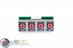 M2705-64503, 451261025001 Philips FM50 Fetal Sensor Socket Connector Refurbished