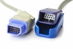 JL-650p Nihon Kohden (14-pin Nihon Kohden) Oximax SpO2 Adapter Cable 10 ft. OEM Compatible.