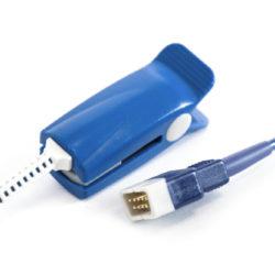 407705-006, DS100A GE SPO2 DB9 to Hard Shell Short Sensor OEM Compatible.