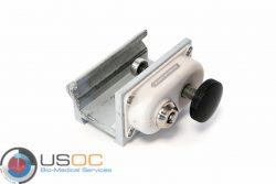 Baxter PCA II Infusion Pump Locking Pole Mount Refurbished. OEM Part Number: 2L3211