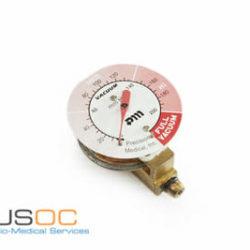 Precision Medical Metal 0-200mmhg Gauge Refurbished 503698.