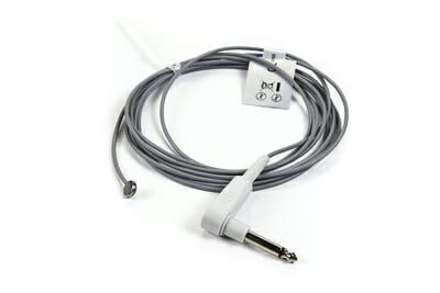 0206-02-0003, 16560, M1024254, 85409 Mindray Datascope (Male, Mono Plug 9 ft) Adult Reusable Skin Temperature Sensor OEM Compatible.