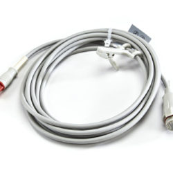 040-000053-00 Datex Ohmeda IBP Adapter Cable (D-Shaped 5 pin 13ft) to DB Connector OEM Compatible.