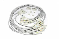420101-001 GE 14 Leadwire ECG CAM 14 Marquette Cable OEM Compatible.