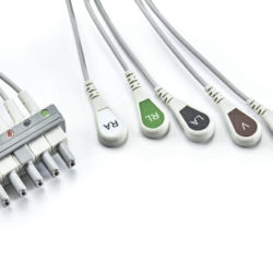 0012-00-1003-01 Mindray Datascope 5 Leadwire ECG Snap OEM Compatible.