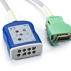 JC-103TA Nihon Kohden ECG Trunk Patient Cable OEM Compatible.