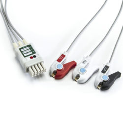 0012-00-1514-04 Mindray Datascope 3 Leadwire ECG Grabber OEM Compatible.