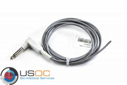 5201343 Draeger YSI (Male, Mono Plug 9 ft) Pediatric Reusable Rectal Temperature Sensor OEM Compatible.