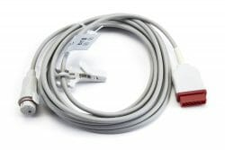 684102 GE Marquette IBP Adapter Cable (Flat, 11 pin 13 ft) to BD OEM Compatible.