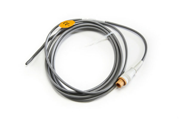0011-30-37394 Mindray Datascope (Round, 2 pin 10 ft) Pediatric Reusable Rectal Temperature Sensor OEM Compatible.