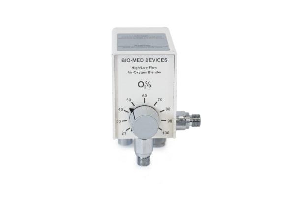 2001 Bio-Med Devices High/Low Oxygen Blender (2 ports) Refurbished.