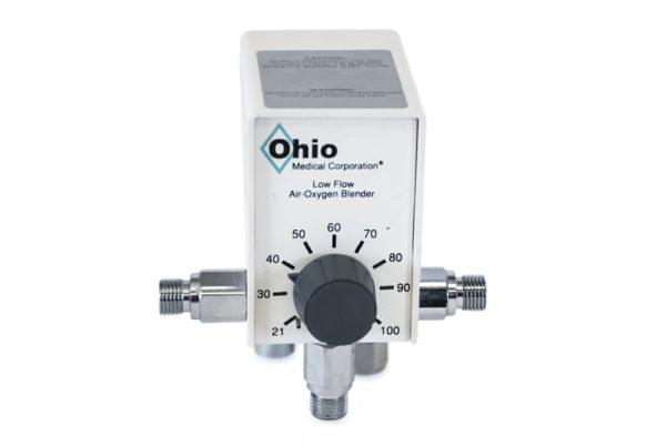 6750-0020-907 Ohio Medical Low Flow Oxygen Blender Refurbished