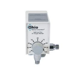 6750-0024-907 Ohio Medical High/Low Oxygen Blender (2 Ports) Refurbished