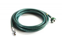 Oxygen Blender Medical Oxygen Hose 10ft, Gentec PN# 34U-OXY-NC-DS-FDS-10, Ohio PN# 6700-4011-815