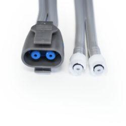 107363 GE NIBP 12 ft Adult Dual Hose Plastic Screw Connector OEM Compatible.