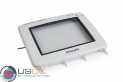 Philips MP5/MP5T/MP5SC Front Bezel Assembly With Touch Glass 4 Wire Small flex connector