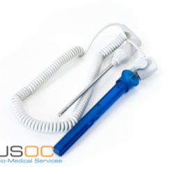 02895-000 Adult Oral Temperature Probe and Well Assembly9 FT Blue