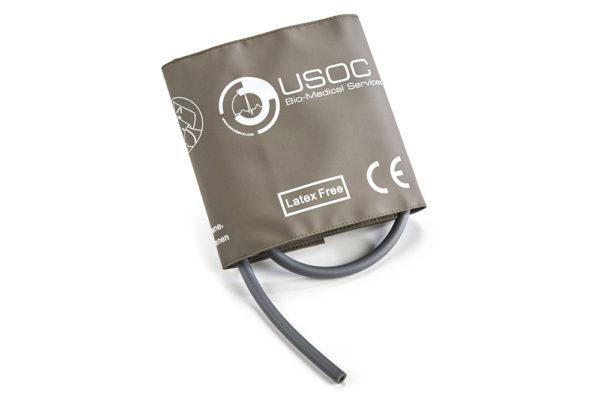 Datex Ohmeda Single Tube Adult Reusable NIBP Cuff 25-35cm OEM Compatible