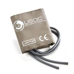 GE Double Tube Adult Large Reusable NIBP Cuff 33-47cm OEM Compatible. OEM Part Number: