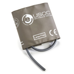 GE Single Tube Adult Reusable NIBP Cuff 25-35cm OEM Compatible.