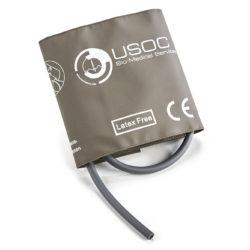 Nihon Kohden Single Tube Adult Large Reusable NIBP Cuff 33-47cm OEM Compatible