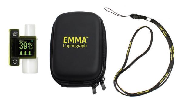 3639 Masimo Phasein, EMMA Monitor, Full Alarm, mmHg Kit