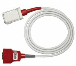 2055 Masimo RED LNC-04 Patient Cable, 1/Box.